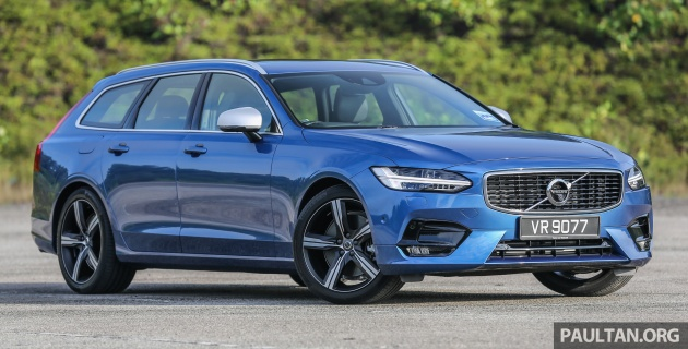 Driven Volvo V90 T6 Awd Review Looks Above All Else