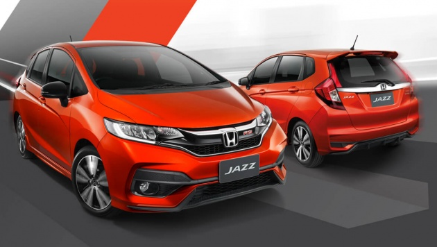 Honda jazz facelift launched in thailand from rm70k for Interior jazz rs 2017