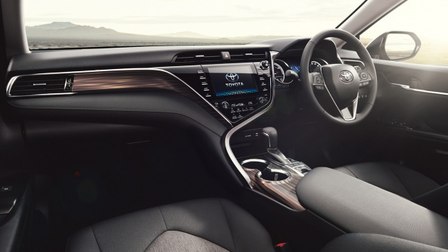 2018 Toyota Camry Unveiled For The Japanese Market