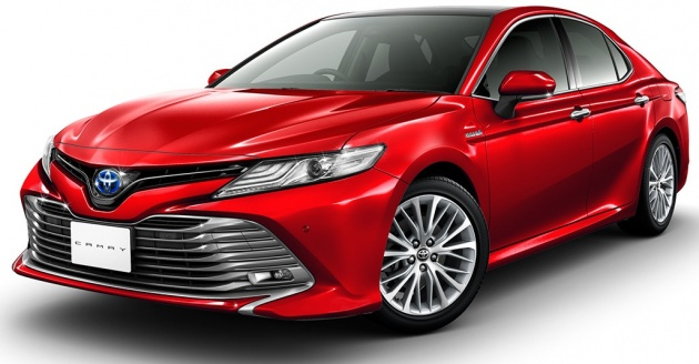 2018 Toyota Camry Release Date In Malaysia >> 2018 Toyota Camry Unveiled For The Japanese Market
