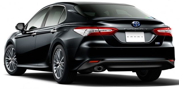 2018 toyota camry unveiled for the japanese market. Black Bedroom Furniture Sets. Home Design Ideas