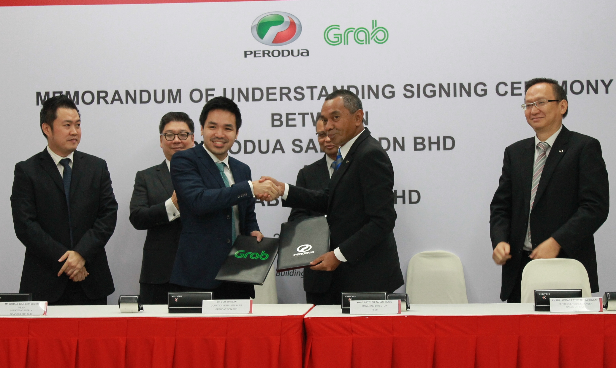 Perodua and Grab partner to offer Bezza, Myvi and Alza at