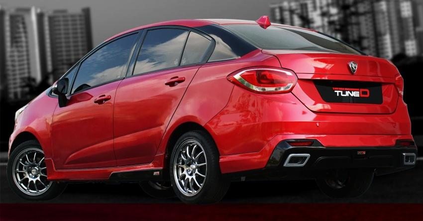 TuneD tawar kit naik taraf Saga, Preve dan Persona – harga bermula RM5,000, aerodinamik turut diuji Image #654870