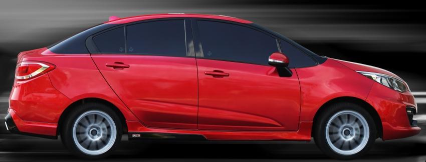 TuneD tawar kit naik taraf Saga, Preve dan Persona – harga bermula RM5,000, aerodinamik turut diuji Image #654872