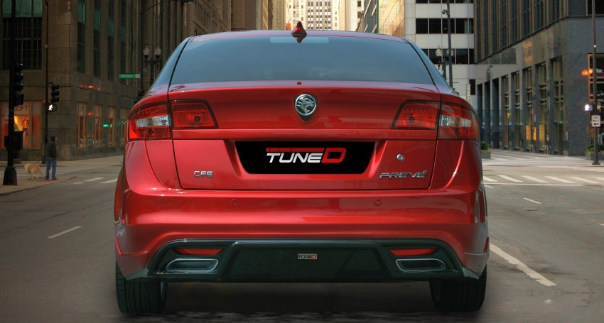 The Proton Preve gets TuneD with tailored packages Image #655077