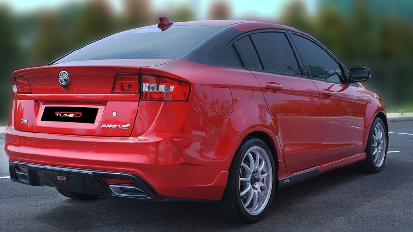 The Proton Preve gets TuneD with tailored packages Image #655080