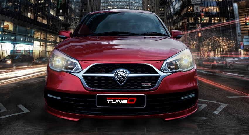 TuneD dresses up the Proton Saga – bodykit and styling packages available, starting from RM5k Image #654944
