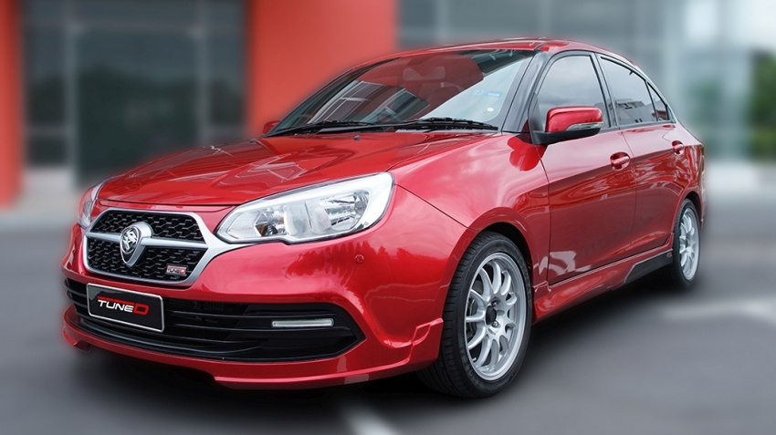 TuneD dresses up the Proton Saga – bodykit and styling packages available, starting from RM5k Image #654945