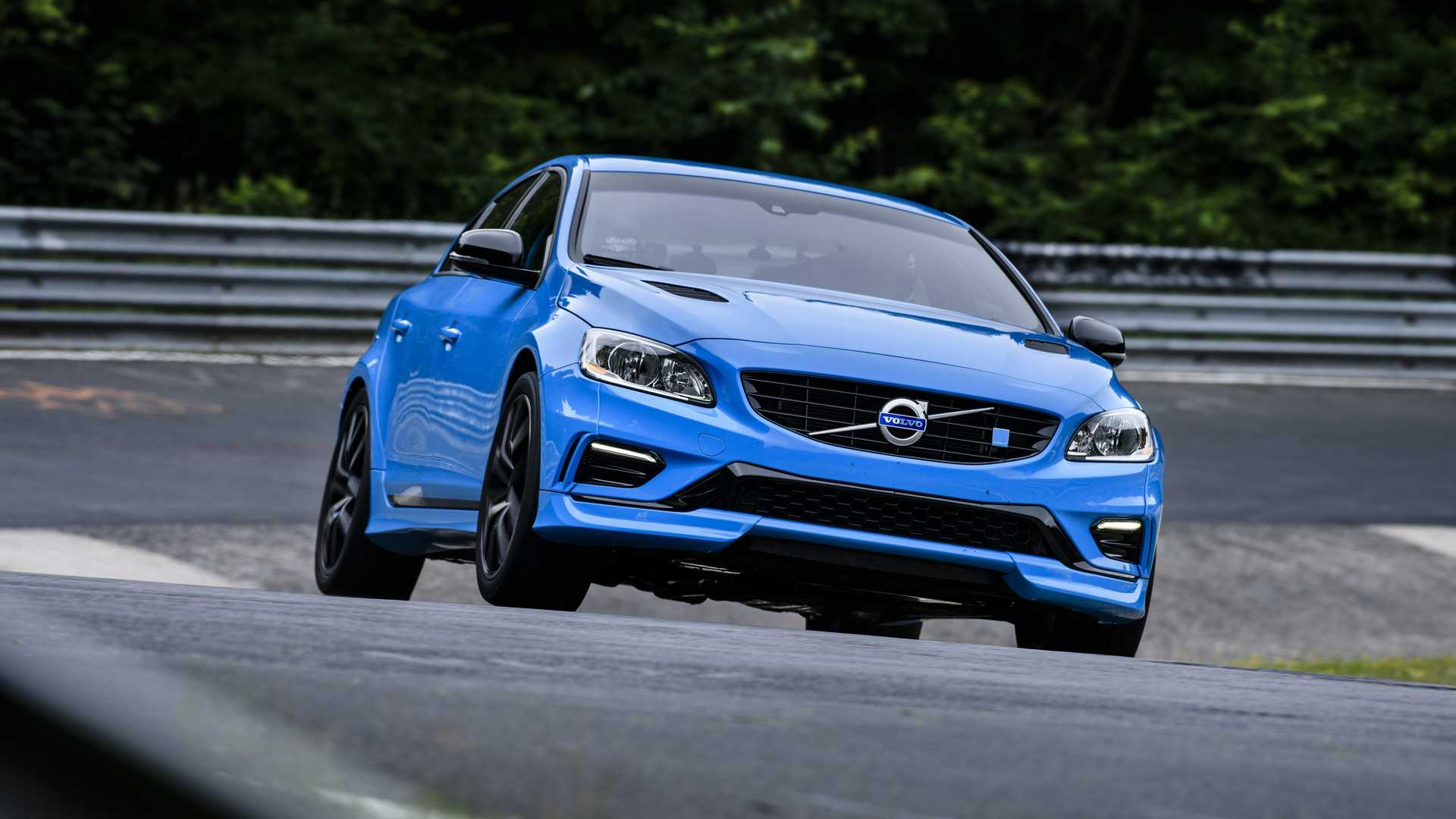 video volvo s60 polestar clinched nurburgring lap record for road legal four door car secretly. Black Bedroom Furniture Sets. Home Design Ideas