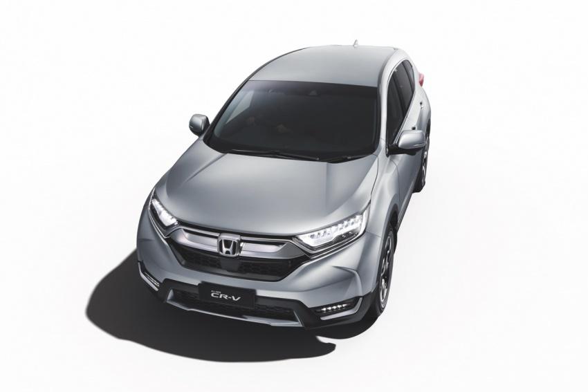 2017 Honda CR-V open for booking – Honda Sensing driver assists, 1.5 VTEC Turbo, standard six airbags Image #667130