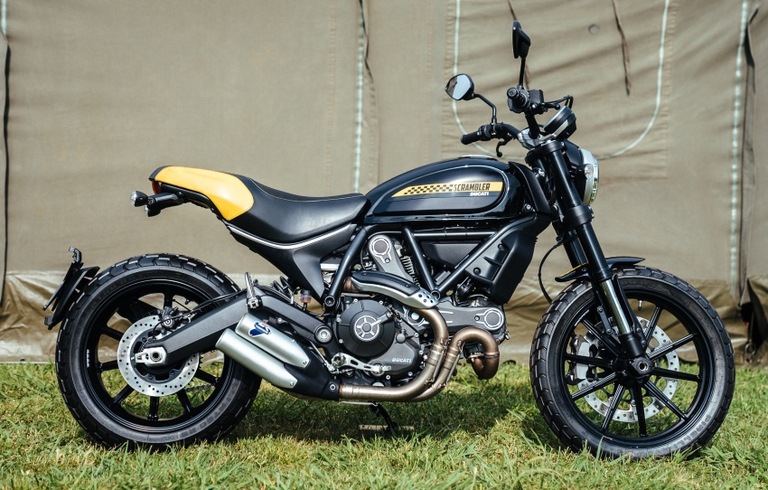 2017 Scrambler Ducati Mach 2.0 and Full Throttle unveiled at Wheels and Waves show in Biarritz Image #674182