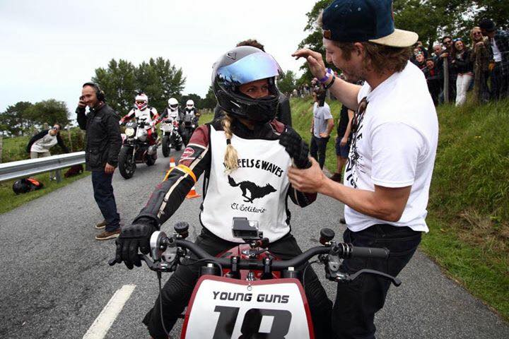 Katja Poensgen and Miracle Mike – one lady racer, one Indian Scout and a 1:1 power to weight ratio Image #674332