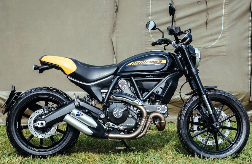 2017 Scrambler Ducati Mach 2.0 and Full Throttle unveiled at Wheels and Waves show in Biarritz Image #674183
