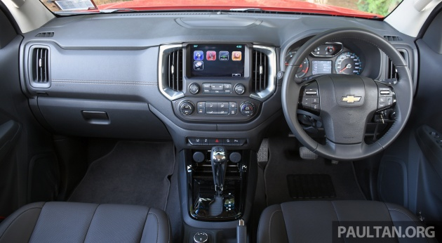 Driven Chevrolet Colorado Facelift Malaysian Review Picking It Up