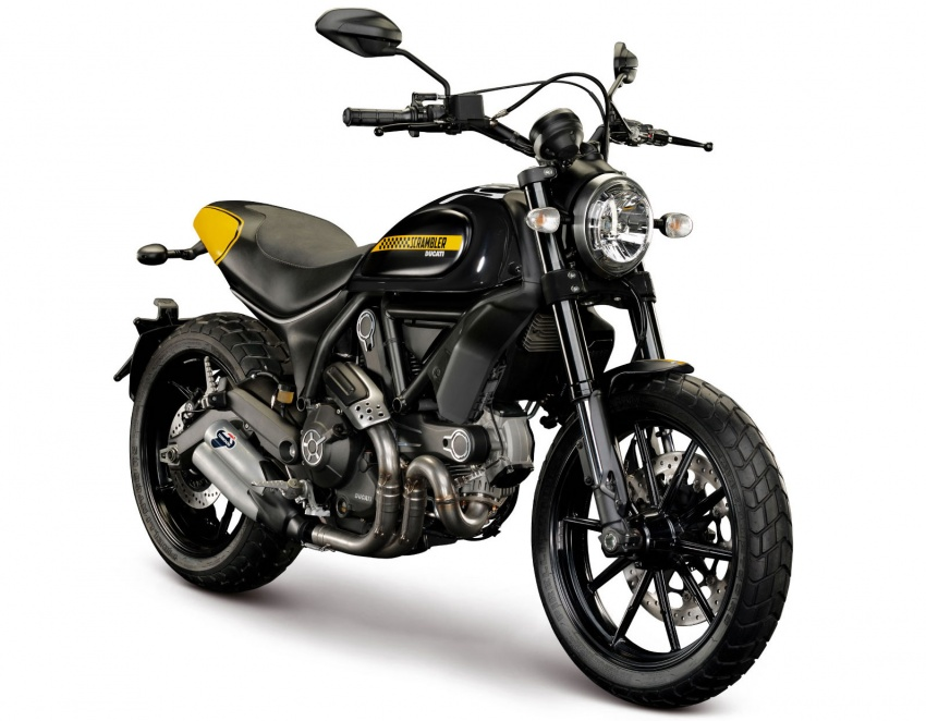 2017 Scrambler Ducati Mach 2.0 and Full Throttle unveiled at Wheels and Waves show in Biarritz Image #674202
