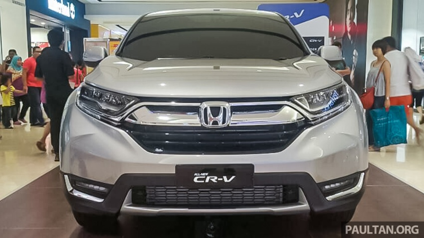 2017 Honda CR-V 1.5 VTEC Turbo previewed in M'sia Image #671619