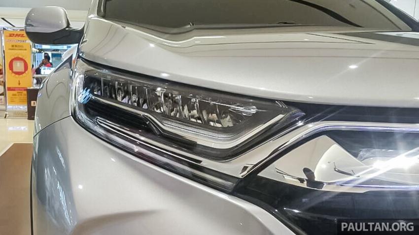 2017 Honda CR-V 1.5 VTEC Turbo previewed in M'sia Image #671629