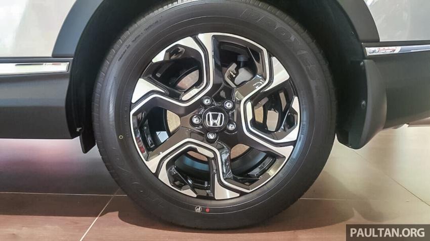 2017 Honda CR-V 1.5 VTEC Turbo previewed in M'sia Image #671634
