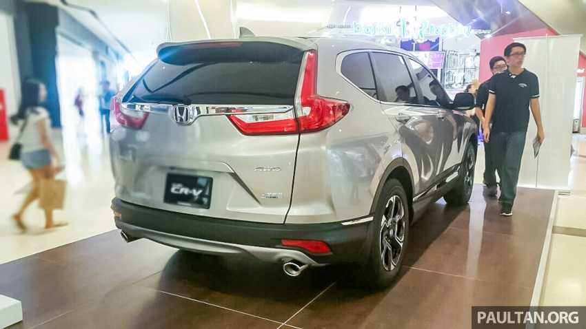 2017 Honda CR-V 1.5 VTEC Turbo previewed in M'sia Image #671637