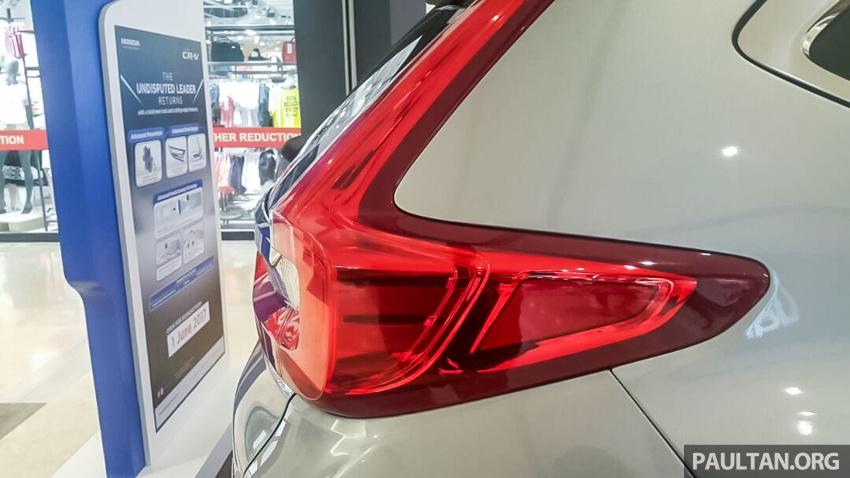 2017 Honda CR-V 1.5 VTEC Turbo previewed in M'sia Image #671627