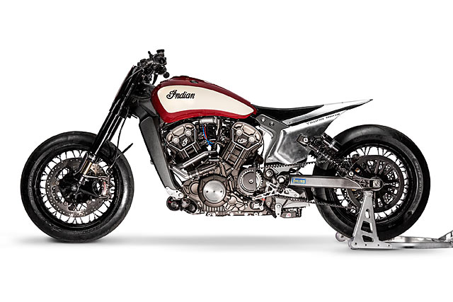 Katja Poensgen and Miracle Mike – one lady racer, one Indian Scout and a 1:1 power to weight ratio Image #674319