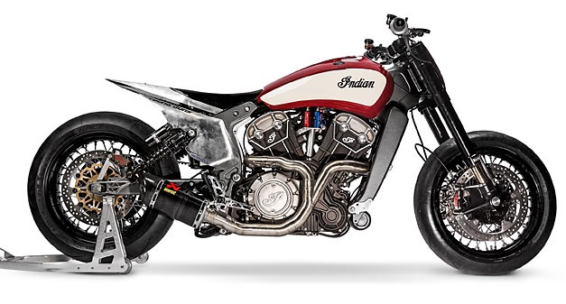 Katja Poensgen and Miracle Mike – one lady racer, one Indian Scout and a 1:1 power to weight ratio Image #674320