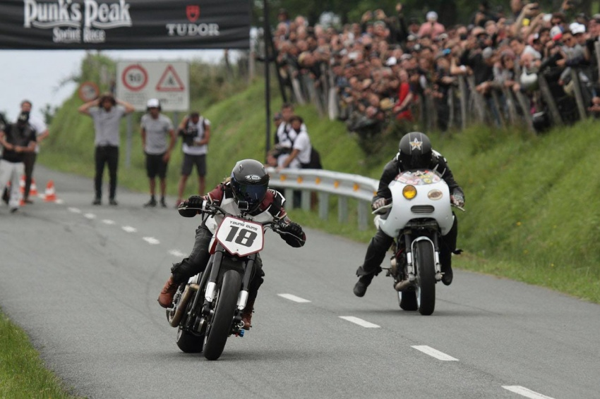 Katja Poensgen and Miracle Mike – one lady racer, one Indian Scout and a 1:1 power to weight ratio Image #674329