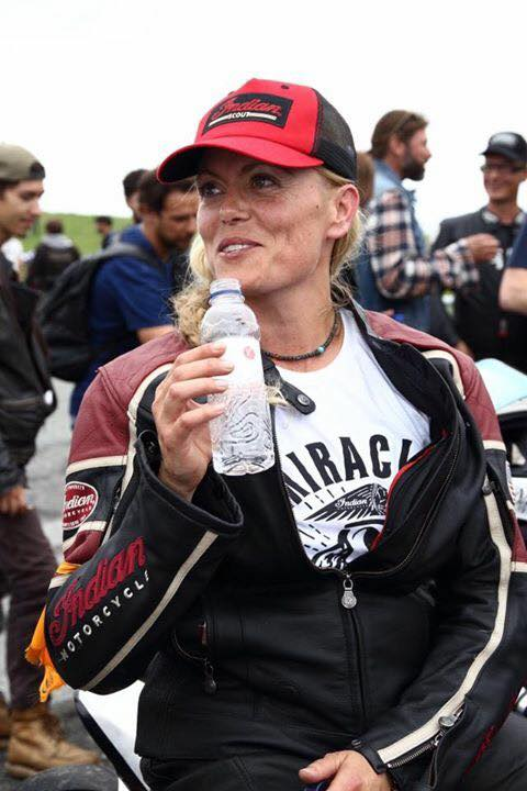 Katja Poensgen and Miracle Mike – one lady racer, one Indian Scout and a 1:1 power to weight ratio Image #674331