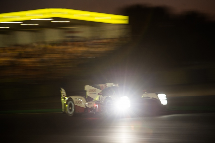 Fake marshal signal causes Toyota #7 Le Mans loss? Image #674682