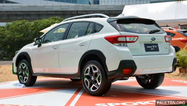 2017 subaru xv launched in taiwan in m 39 sia by q4. Black Bedroom Furniture Sets. Home Design Ideas