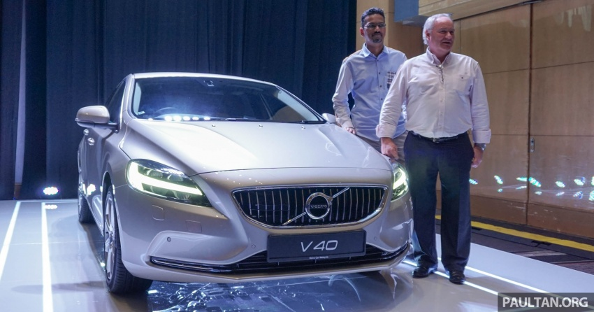 Volvo V40 facelift launched in Malaysia – T5 Inscription priced at RM180,888; T4 to be introduced at later date Image #674417