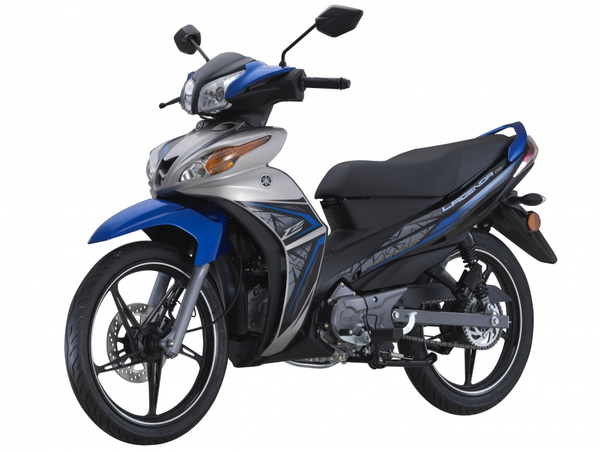 2017 yamaha lagenda l115z in new colours rm5 683 image