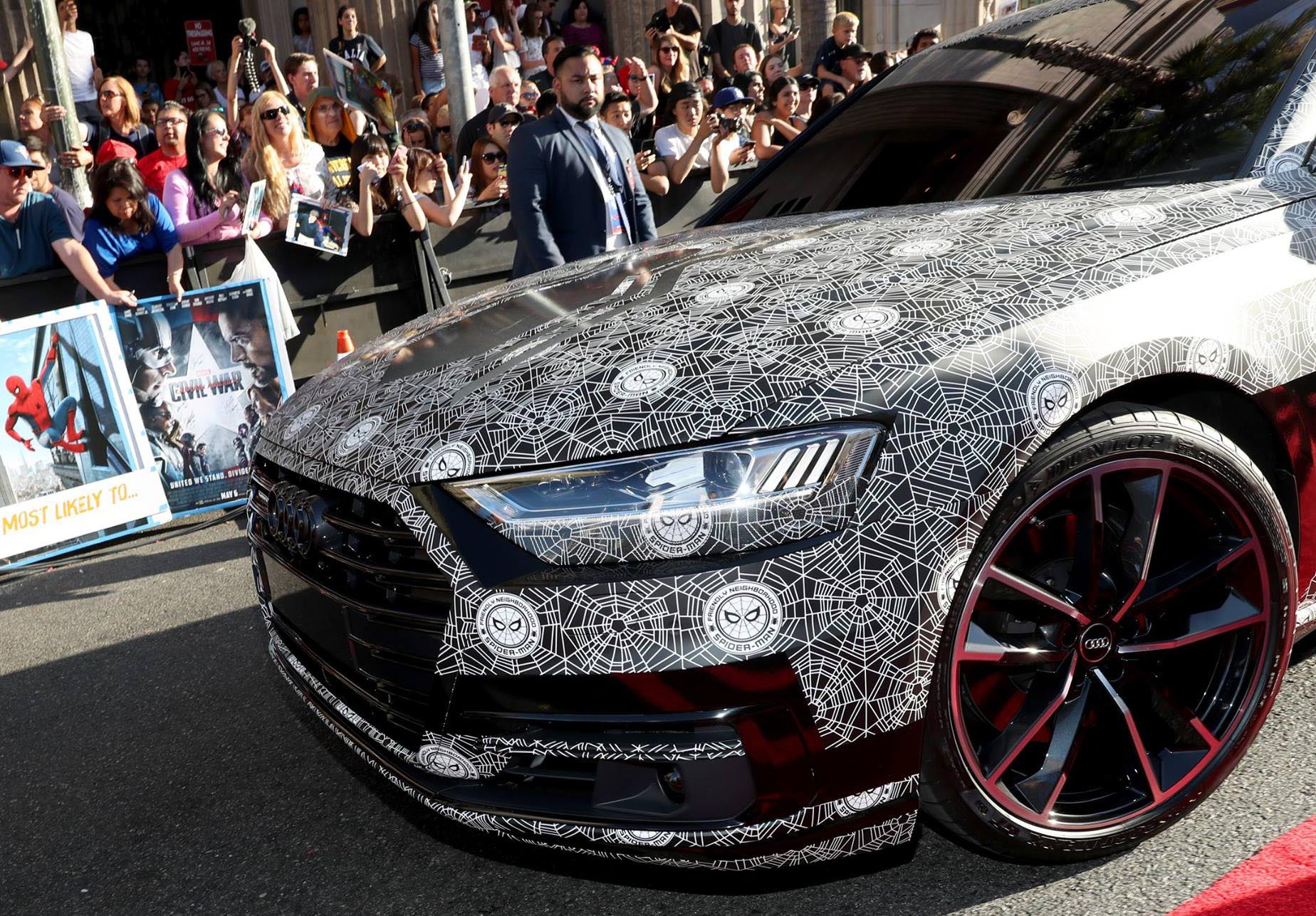 2018 Audi A8 At Spider Man Homecoming Premiere Paul Tan Image 677712
