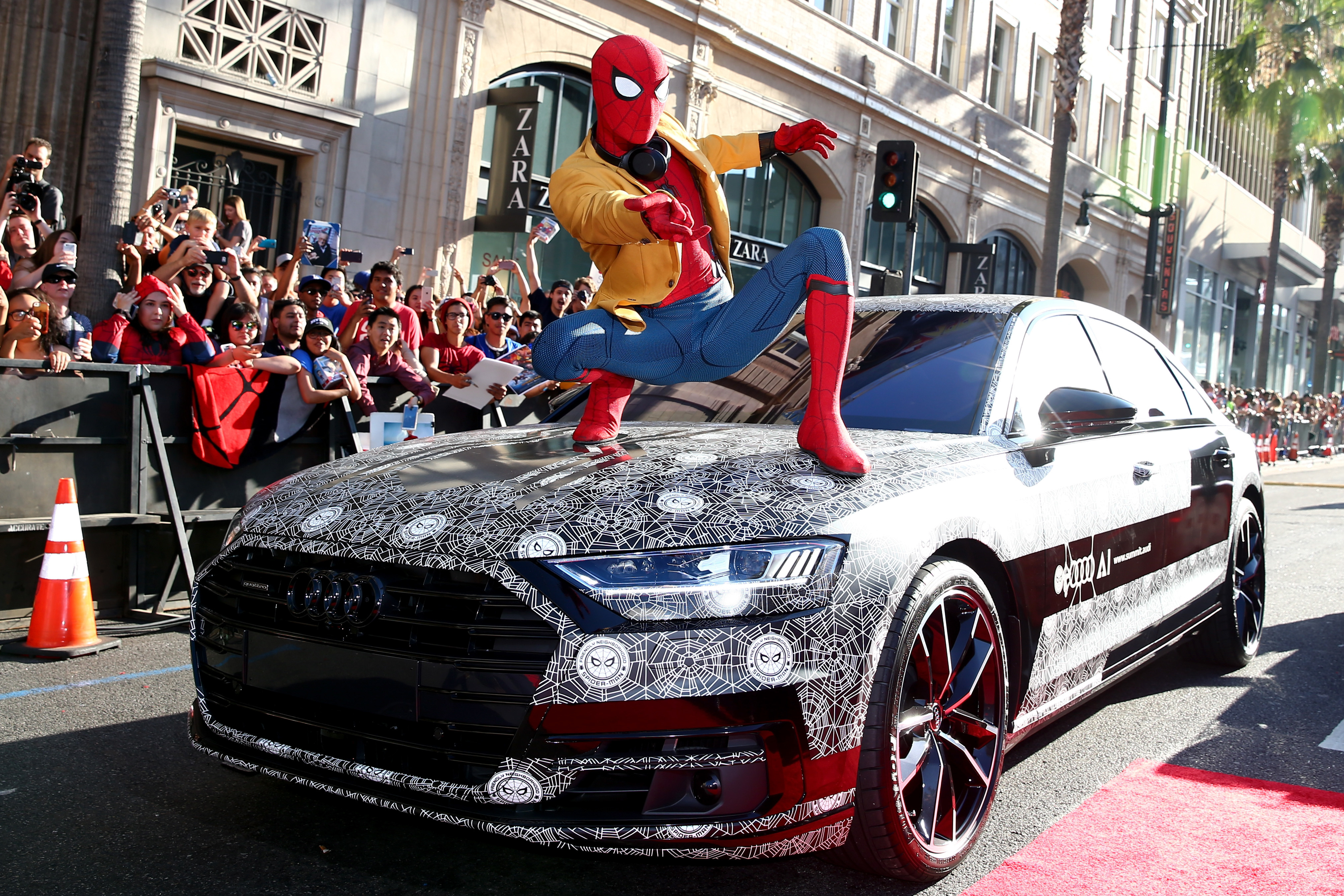 2018 Audi A8 At Spider Man Homecoming Premiere