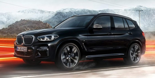 new g01 bmw x3 pics details leaked ahead of debut. Black Bedroom Furniture Sets. Home Design Ideas