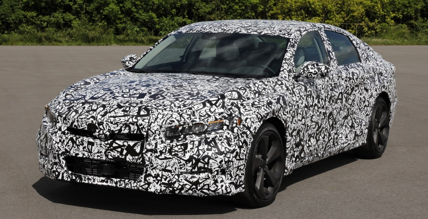 2018 Honda Accord – 1.5 turbo 6MT/CVT, 2.0 turbo 6MT/10AT and 2.0 Hybrid eCVT confirmed for the US Image #671577