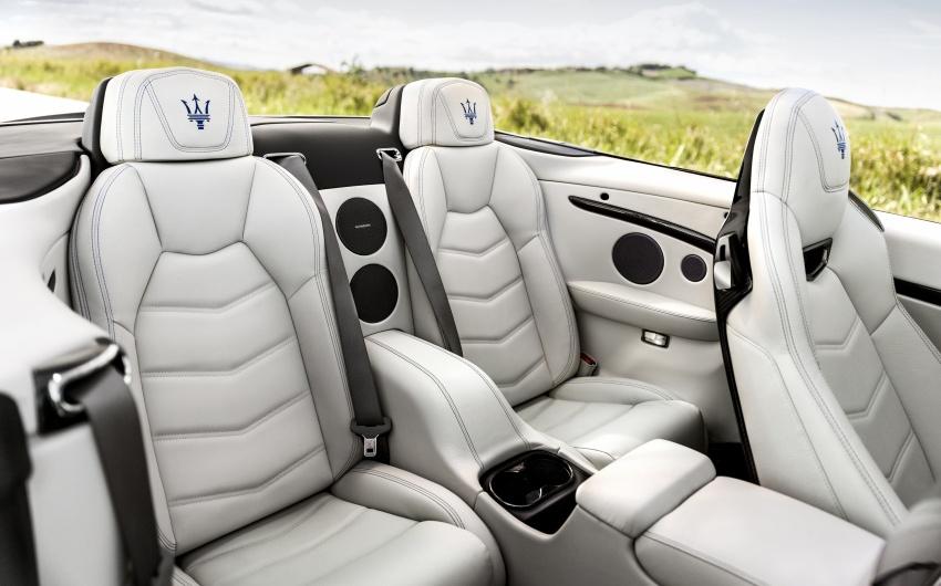 2018 Maserati GranCabrio debuts with minor updates Image #678070