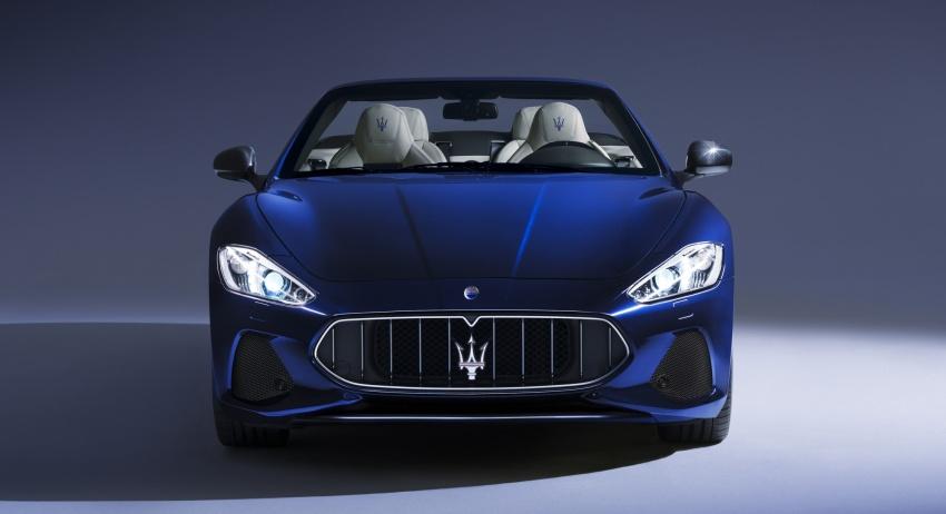 2018 Maserati GranCabrio debuts with minor updates Image #678075