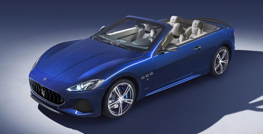 2018 Maserati GranCabrio debuts with minor updates Image #678076