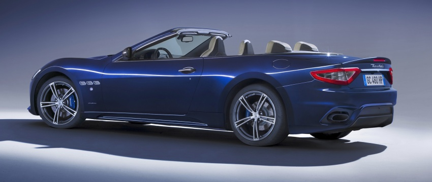 2018 Maserati GranCabrio debuts with minor updates Image #678078