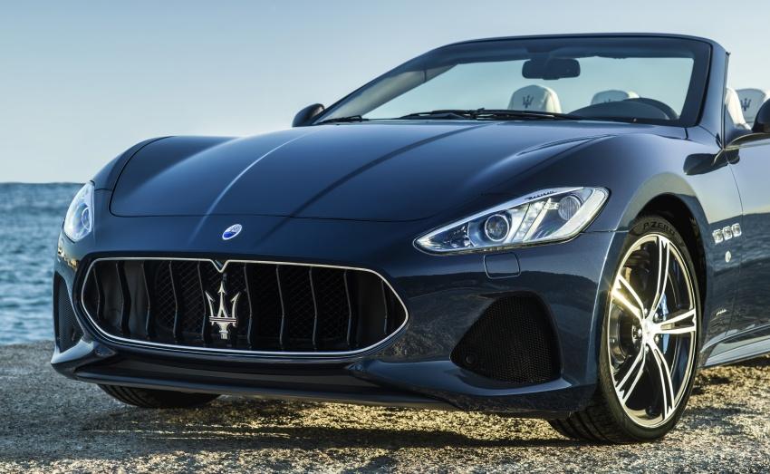 2018 Maserati GranCabrio debuts with minor updates Image #678064
