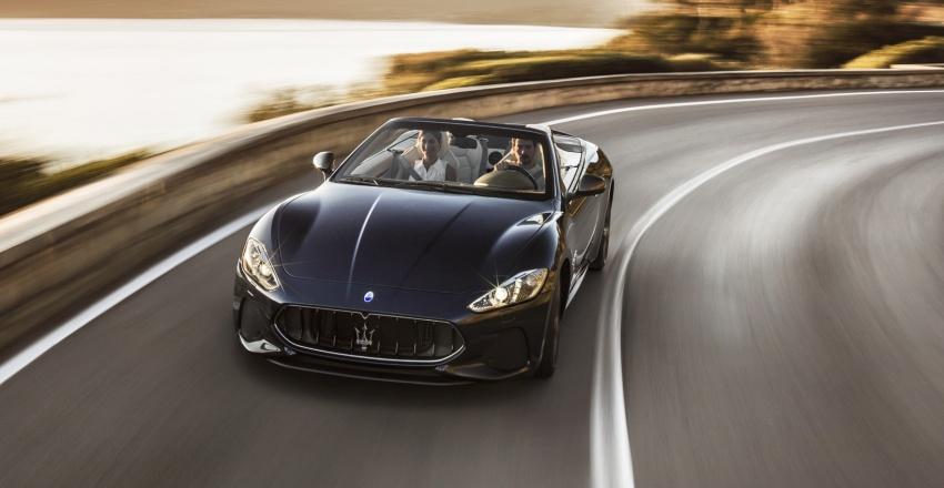 2018 Maserati GranCabrio debuts with minor updates Image #678065