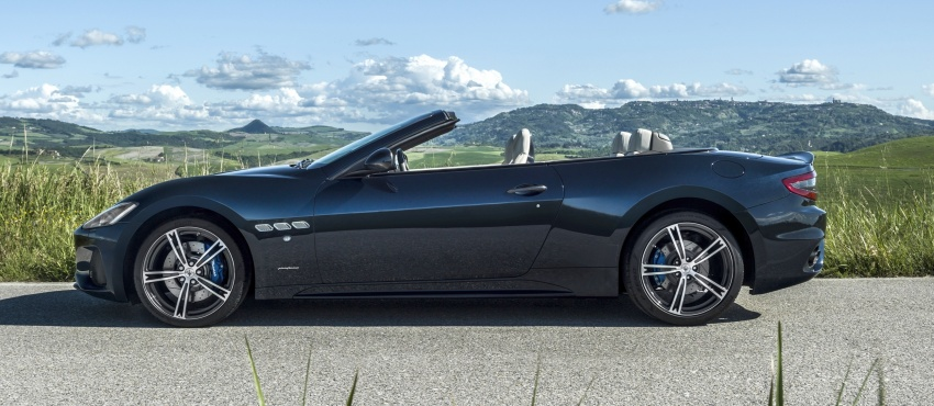 2018 Maserati GranCabrio debuts with minor updates Image #678066