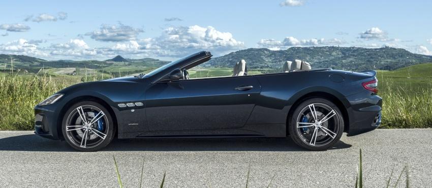 2018 Maserati GranCabrio debuts with minor updates Image #678066