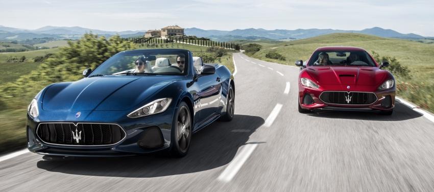 2018 Maserati GranCabrio debuts with minor updates Image #678080