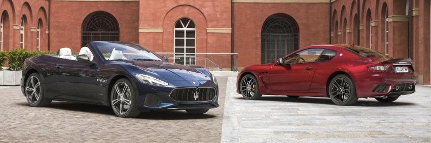 2018 Maserati GranCabrio debuts with minor updates Image #678079