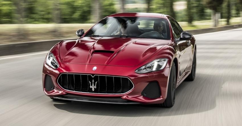2018 Maserati GranCabrio debuts with minor updates Image #678040
