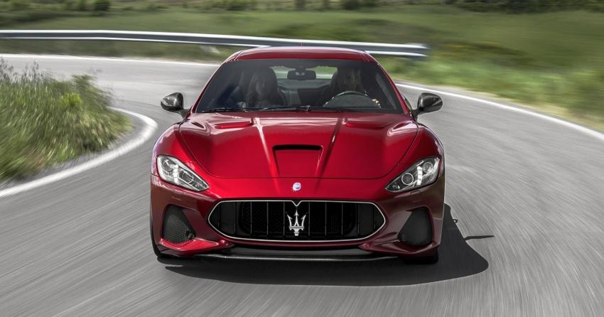 2018 Maserati GranCabrio debuts with minor updates Image #678042