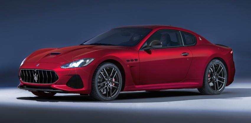 2018 Maserati GranCabrio debuts with minor updates Image #678043