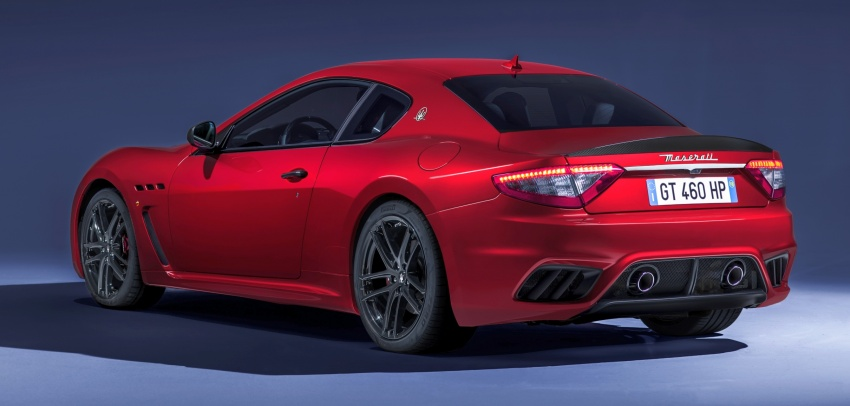 2018 Maserati GranCabrio debuts with minor updates Image #678044
